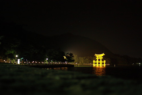 The Gate of Itsukushima Shrine