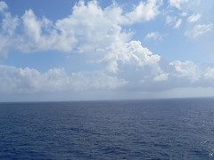 the Ocean (sk19391) Tags: ocean blue sea sky white clouds contrast digital photography nikon d70 shades panasonic bliss endless tranquel