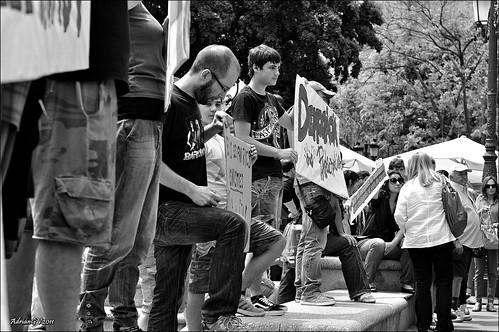 Indignats del moviment 15 Març 6 by ADRIANGV2009