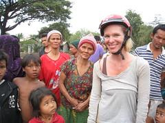 Village encounter - Battambang