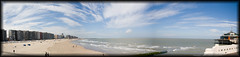 Pano (LPhotographer) Tags: ocean light sea panorama beach night canon concert pano sydney bateau 70 reflexion 70200 2009 f28 ef f4 200mm