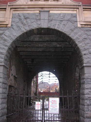 Archway of the Tennessee Brewery