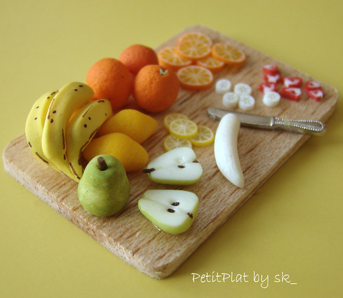 Miniature Food Fruit Prep'Board #1 par PetitPlat by sk_
