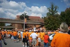 sea of orange (courtneysmilestoo) Tags: vols utknoxville