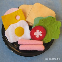 Felt food breakfast