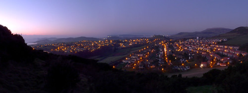 West Kilbride at Night 20Jan09