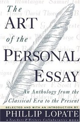 Cover art for the book Art of the Personal Essay