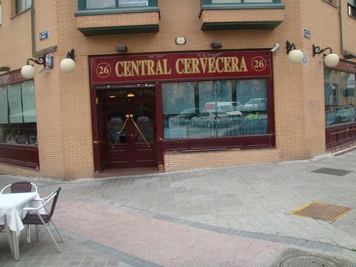 Vista de la fachada del restaurante