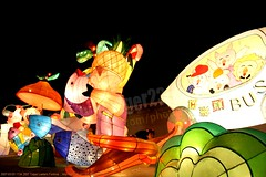2007-03-03 1134 2007 Taipei Lantern Festival (Badger 23 / jezevec) Tags: festival night lights pig colorful taiwan parade taipei formosa float  hai taipeh boar  lanternfestival 2007  chineselantern  chiangkaishekmemorialhall  republicofchina yearofthepig    aonuevochino  capodannocinese   taiwn chaingkaishek   20070303    tapeh    badger23 shangyuanfestival ftedeslanternes     lyhtyjuhla chinesischeslaternenfest