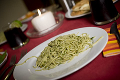 Pistachio Pesto Pasta