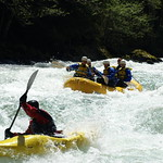 """Todd leads the way in his kayak <a style=""""margin-left:10px; font-size:0.8em;"""" href=""""http://www.flickr.com/photos/25543971@N05/3253948574/"""" target=""""_blank"""">@flickr</a>"""