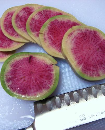 Watermelon radish
