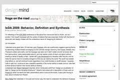 Behavior, Definition and Synthesis | Blog | design mind_1234472046179