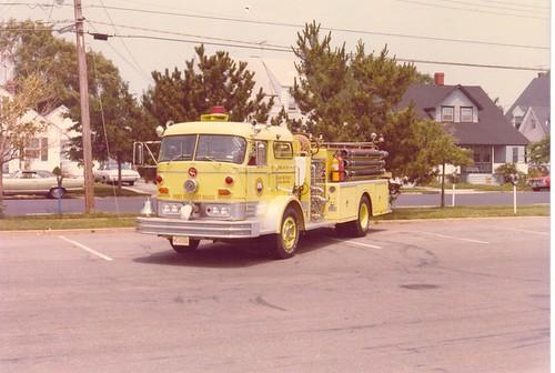 Ocean Fire Company No. 1  -  C Model Mack  -  Point Pleasant Beach, New Jersey