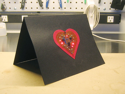 LED Valentines Day Card