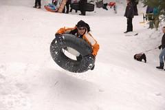 "Uh ""O"" (Airstream Life) Tags: arizona snow tucson sledding sleds hammerhead"
