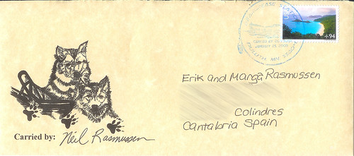 John Beargrease Envelope