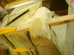 hammer making[みかんの槌作成]-12