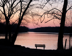 Evening time (Minkum) Tags: winter sunset fab dusk silhouettes potomacriver soe blueribbonwinner otw mywinners diamondclassphotographer flickrdiamond theperfectphotographer goldstaraward worldwidelandscapes rubyphotographer abovealltherest