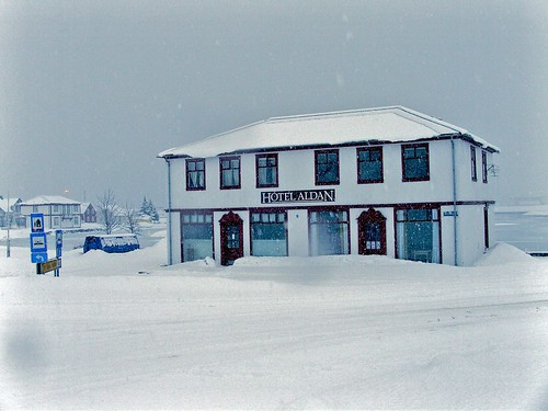 hotel aldan in deep winter