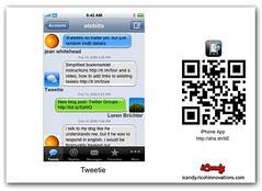 Tweetie (Margarita_Quihuis) Tags: ricoh tweetie qrcode icandy ricohinnovations iphoneapp