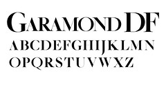 Garamond DF (daylight444) Tags: fonts typeface garamonddf