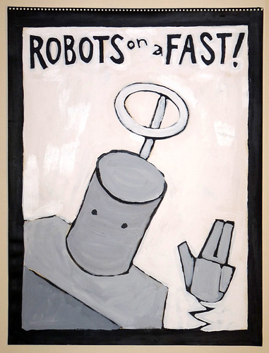 """robots on a fast!"""