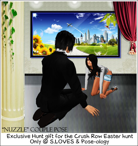Nuzzle Couple Pose