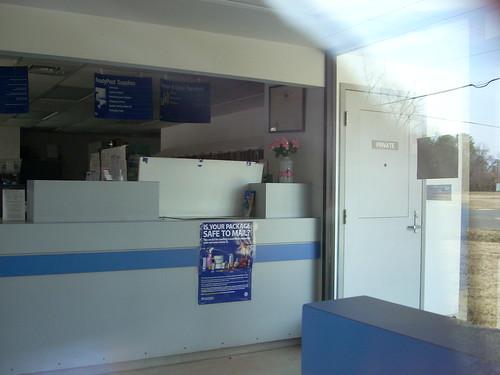 United States Postal Service interior