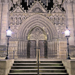Entrance to St Giles Cathedral - Edinburgh