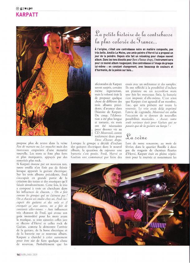 ARTICLE FRANCOFANS MARS 2009 3451058162_4a87170db5_o