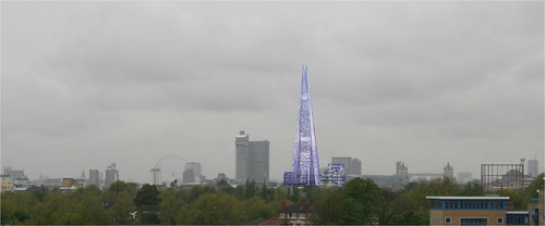 The Shard - from Docklands