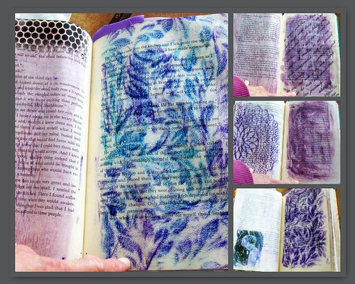 art retreat mosaic - mauve and other lovely colours