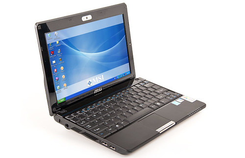 MSI Wind U123, MSI, Netbook