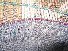 Beading Start (Liralen Li) Tags: beads knitting shipwreck knitty