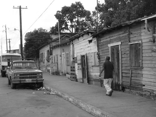 Tampico backstreet.