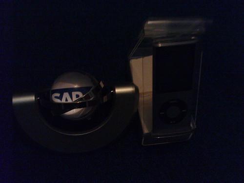 My Raffle Draw Gifts - MAG Globe Clock & Frame and 16GB Nano Ipod