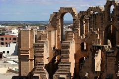 The Ruins of El Djem, Tunisia, North Africa (curreyuk) Tags: ruins roman northafrica tunisia colosseum tunisie gladiator colosseo eljem eld