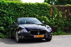 Maserati Quattroporte GT-S (Martijn Beekmans) Tags: auto slr car nikon ferrari mclaren porsche mercedesbenz enzo gt lamborghini scuderia maserati gt2 gallardo amg carrera 430 murcielago granturismo 550 997 16m d90 reventon cl65 gt3rs 722s