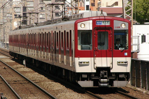 Kintetsu1020series in Imazato,Osaka,Osaka,Japan 2009/5/29