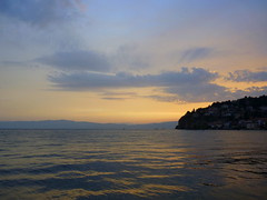 Ohrid lake view (jelisaveta21) Tags: blue sunset clouds macedonia ohrid balkan lakeohrid mcct thebeautyofmacedonija