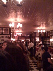 Bar at Minetta Tavern. Steak review coming soon by killthebird, on Flickr