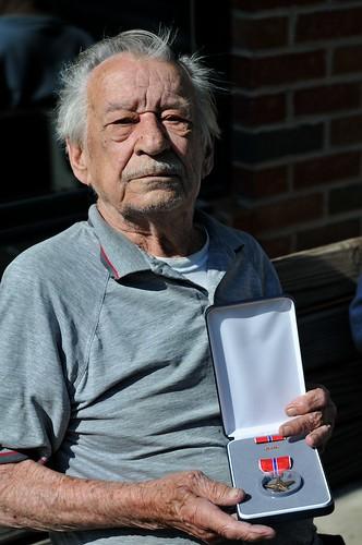Grandpa and his Bronze Star