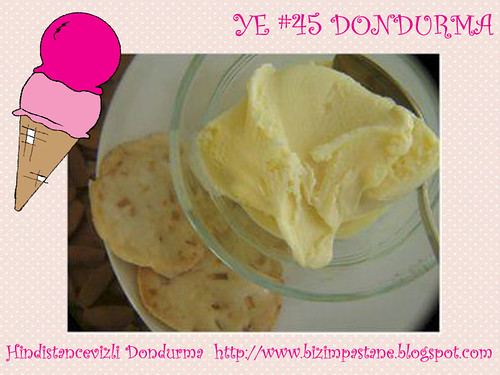 Hindistancevizli Dondurma - Bizim Pastane