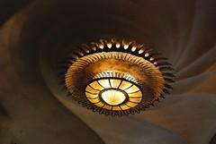 Lamp (cranjam) Tags: barcelona sea lamp spain mare waves unesco worldheritagesite gaud barcellona casabatll spagna lampada onde batll lampadario antonigaud josepbatll