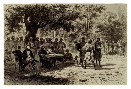 012-Jueces itinerantes en Baroda india Central-La India en palabras e imágenes 1880-1881- © Universitätsbibliothek Heidelbergl