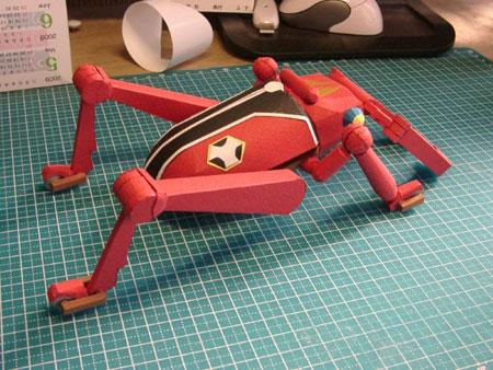 Time Kuwagattan Papercraft 01