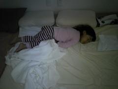 sleeping in late, and sideways