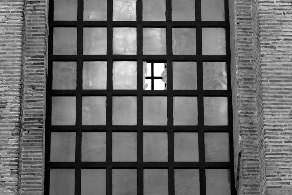 broken glass windows