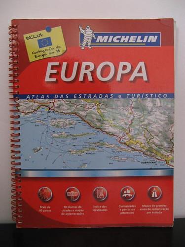 Atlas da estradas Michelin - Europa